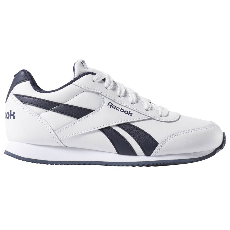 Zapatillas de niño-a REEBOK ROYAL CLASSIC JOGGER 2.0 blanco y marino CN4930
