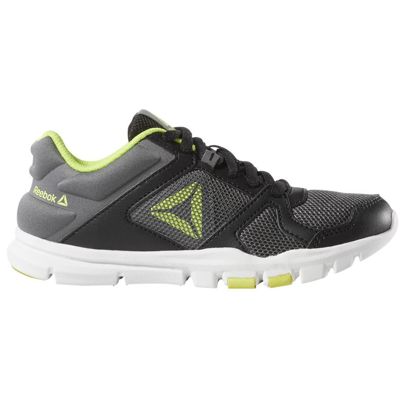 Zapatillas niño-a REEBOK YOURFLEX TRAIN 10 negro y verde CN8603