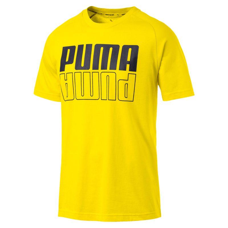 Camiseta manga corta PUMA MODERN SPORTS amarilla 855604-36