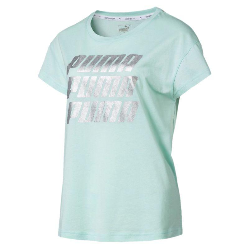 Camiseta de mujer PUMA MODERN SPORTS verde agua 855615-34