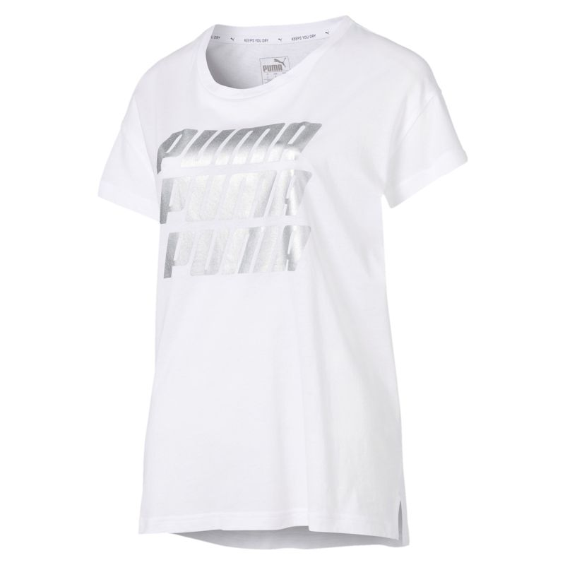 Camiseta de mujer PUMA MODERN SPORTS blanca 855615-53