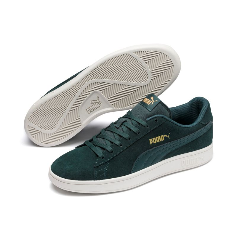 Zapatillas PUMA SMASH V2 verde 364989-26
