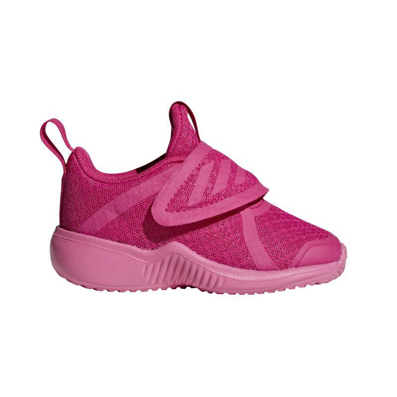 Zapatillas de niña pequeña ADIDAS FORTARUN X rosa D96961