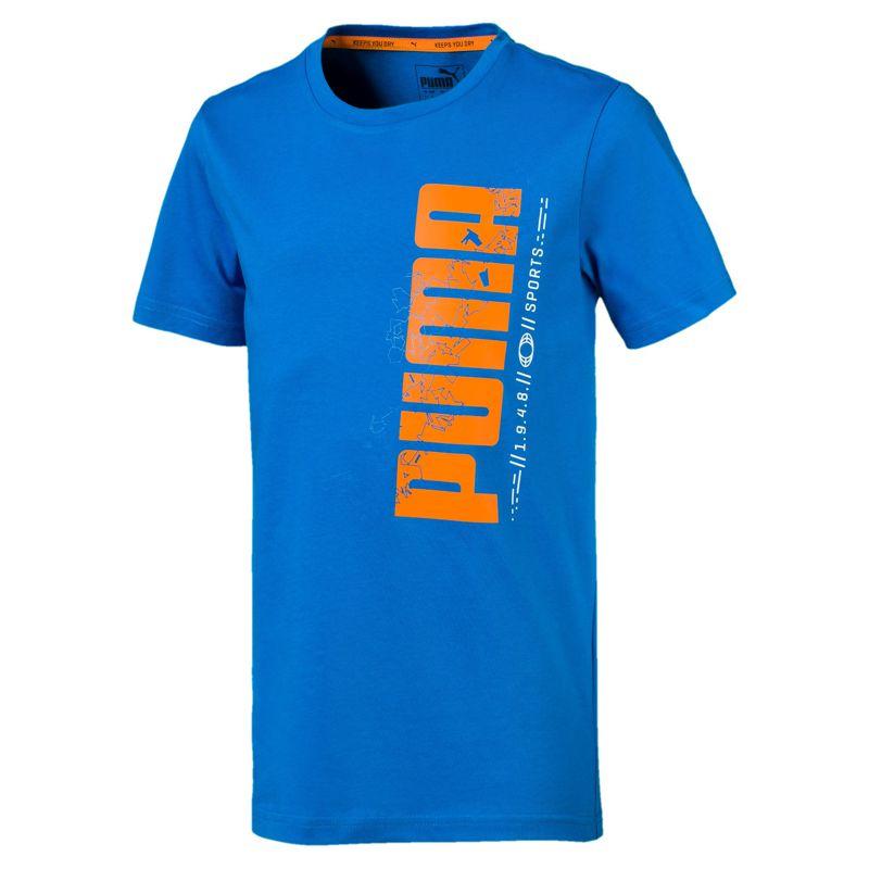 Camiseta de niño-a PUMA ACTIVE SPORT azul 854408-27