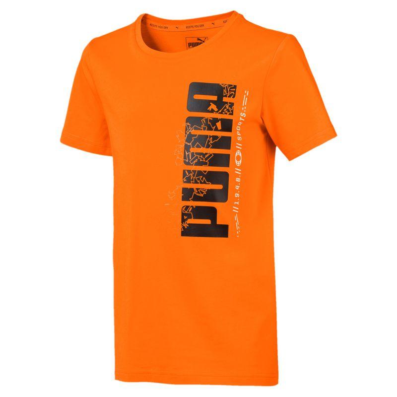 Camiseta de niño-a PUMA ACTIVE SPORT naranja 854408-45