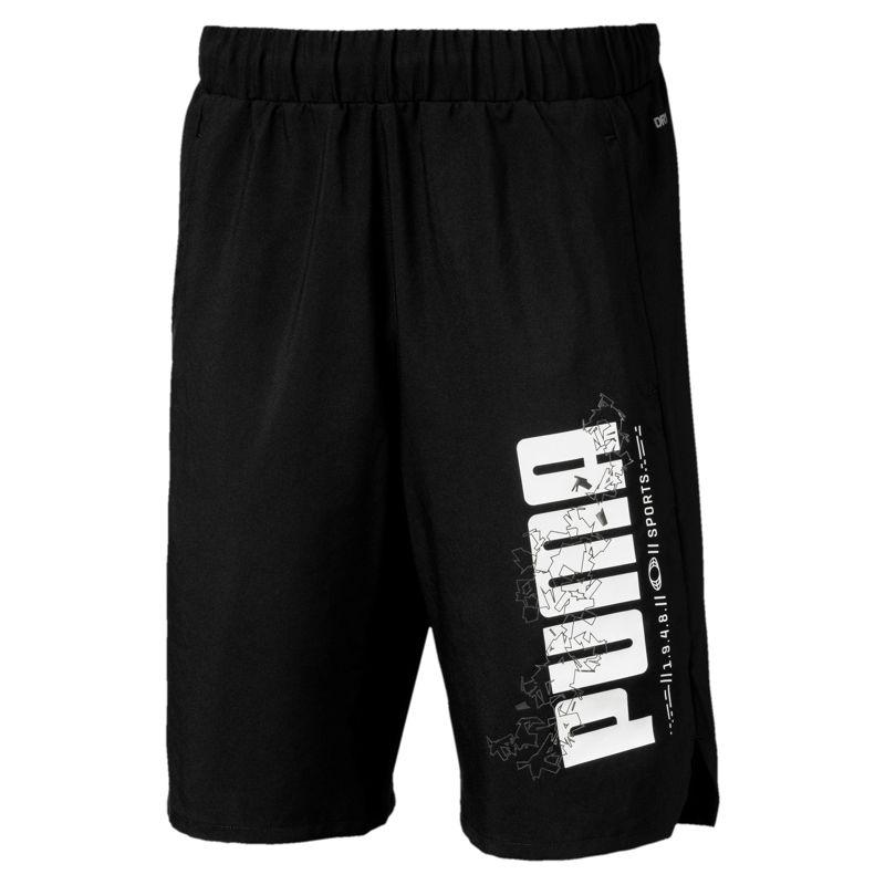 Pantalón corto de niño PUMA ACTIVE SPORTS negro 854414-01