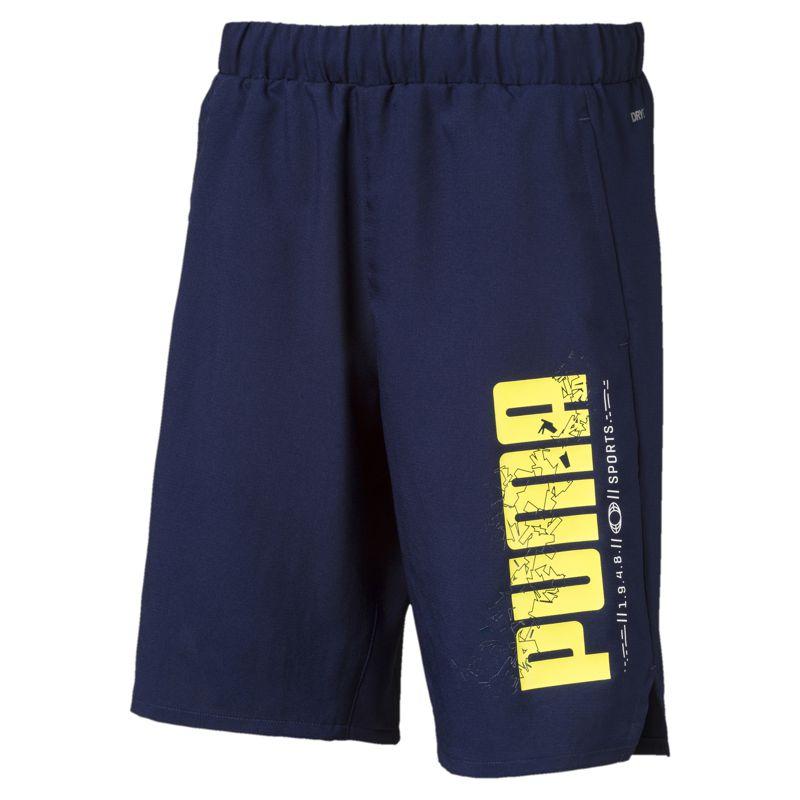 Pantalón corto de niño PUMA ACTIVE SPORTS marino 854414-06