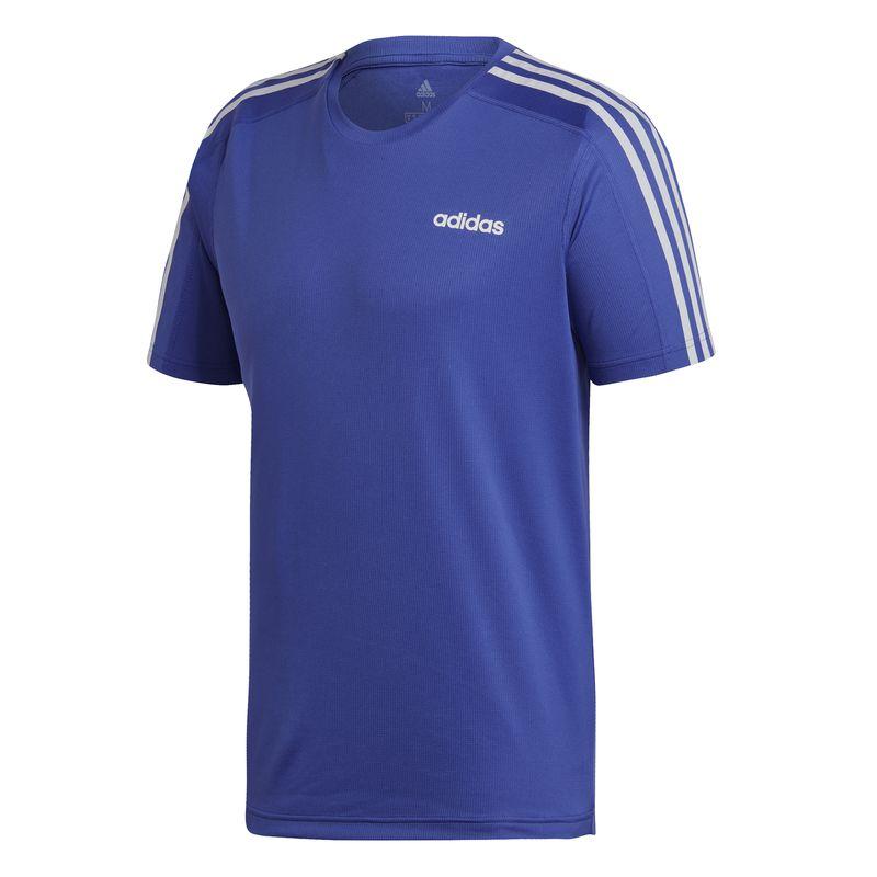 Camiseta ADIDAS D2M azul DU1261