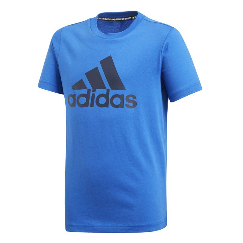 Camiseta de niño ADIDAS BADGE OF SPORT MUST HAVES azul DV0818