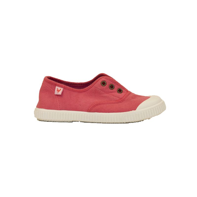 Zapatillas de niña-o WALK IN PITAS INGLES coral 8-1