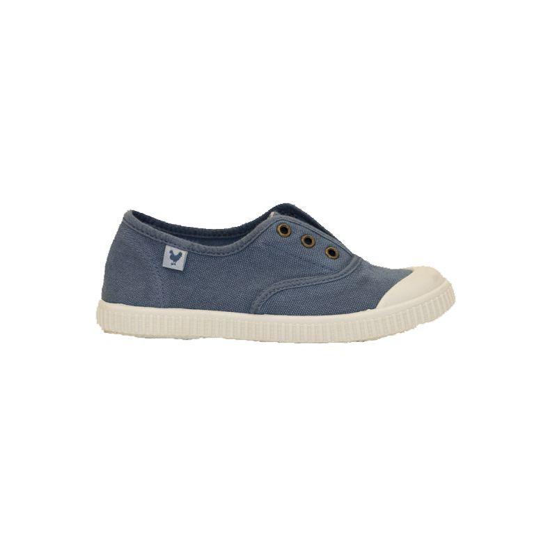 Zapatillas de niño-a WALK IN PITAS INGLES azul desgastado 8-1