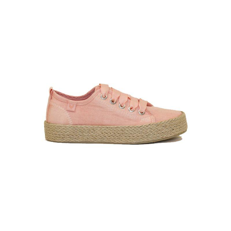 Zapatillas de mujer WALK IN PITAS ADA rosa claro 12-1