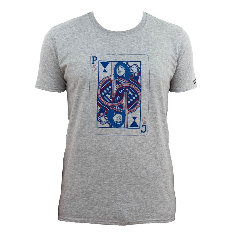 Camiseta manga corta TANKO NAIPE DE CARLES gris