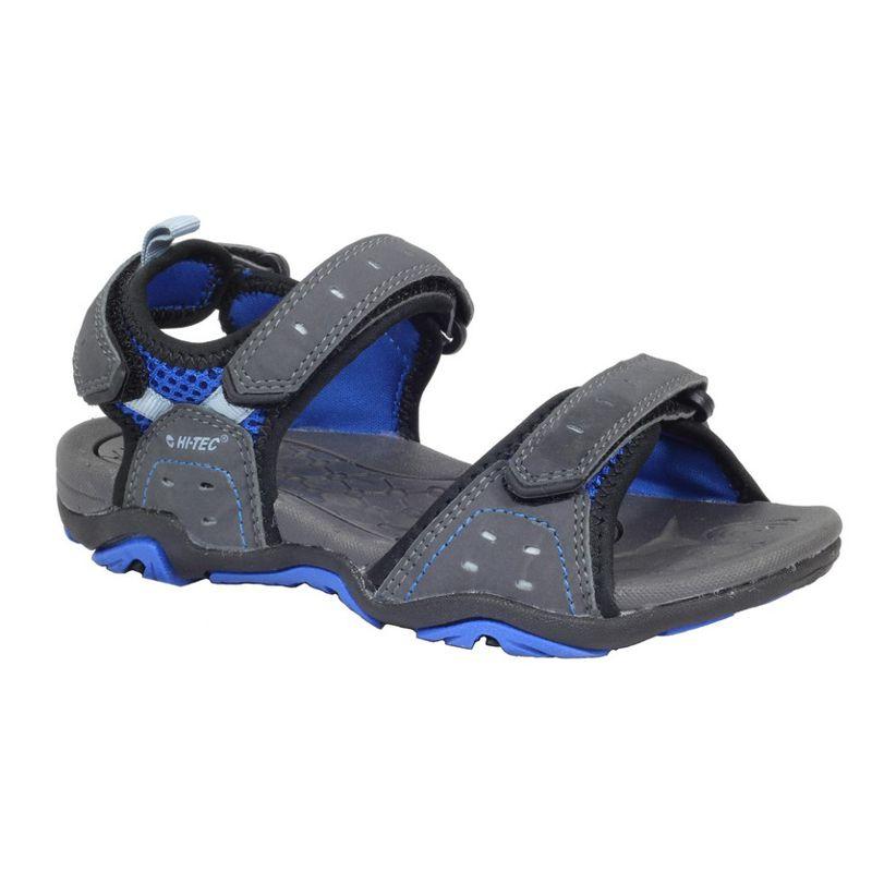 Sandalia de niño HI-TEC ARENA gris y azul 090031002