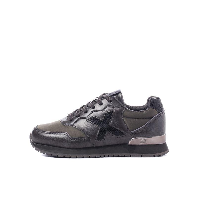 Zapatillas de niño-a MUNICH DASH negro y gris 1690048