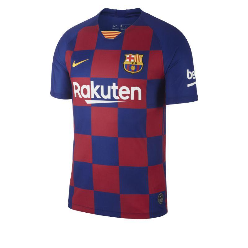 Camiseta 1ª Equipación NIKE F.C. BARCELONA 2019-2020 azulgrana AJ5532-456