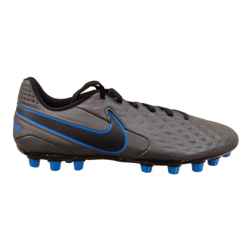Bota multitaco NIKE LEGEND 8 ACADEMY AG negra y azul AT6012-004