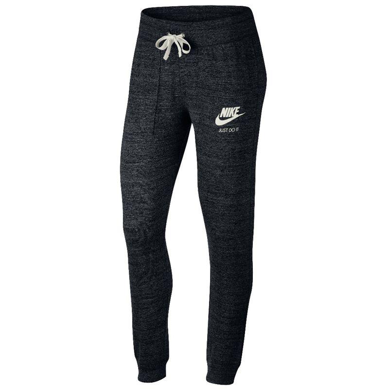 Pantalón de mujer NIKE GYM VINTAGE negro jaspeado 883731-010