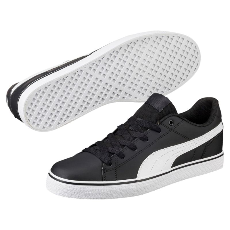Zapatillas PUMA COURT POINT VULC V2 negro y blanco 362946_02