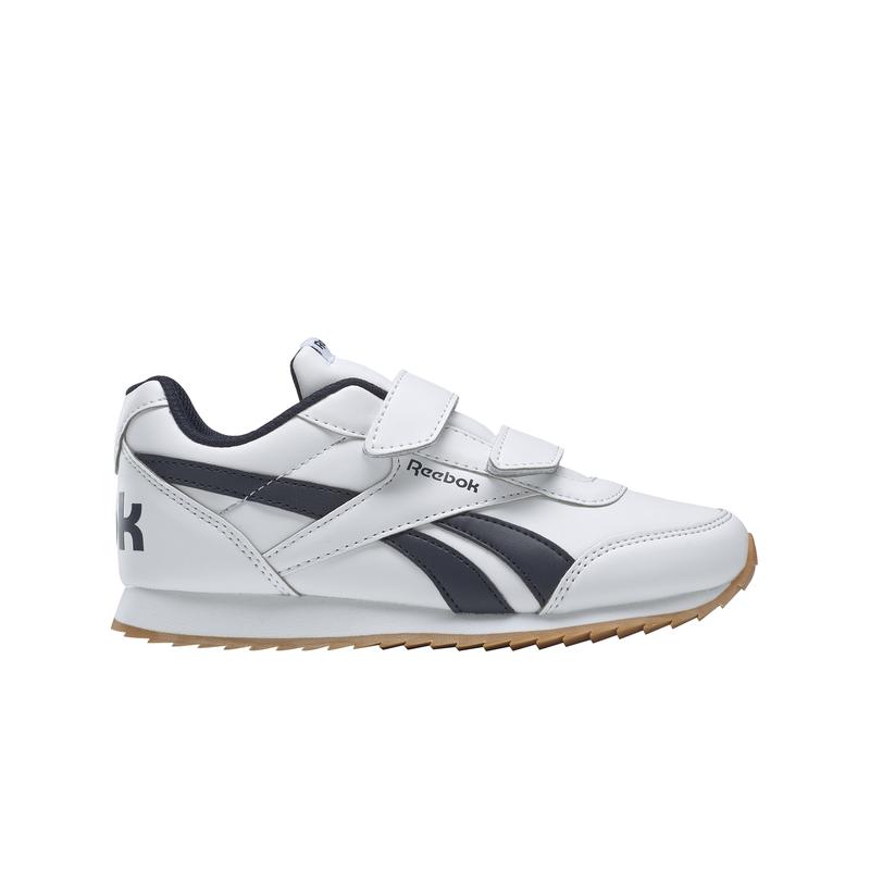 Zapatillas de niño-a REEBOK ROYAL CLASSIC JOGGER 2.0 blanco y marino DV9092