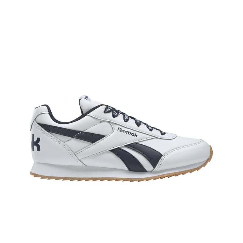 Zapatillas de niño-a REEBOK ROYAL CLASSIC JOGGER 2.0 blanco y marino DV9075