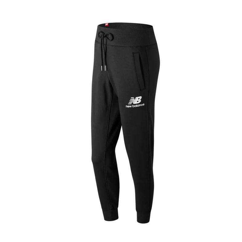 Pantalón de mujer NEW BALANCE ESSENTIALS negro WP91545