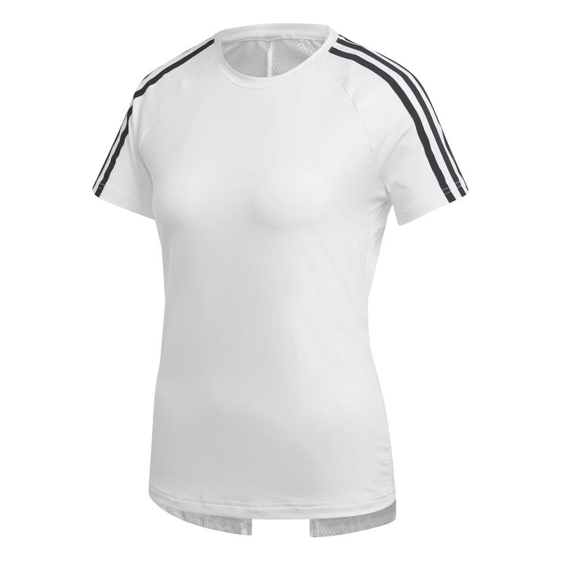 Camiseta de mujer ADIDAS D2M 3S blanca DS8723