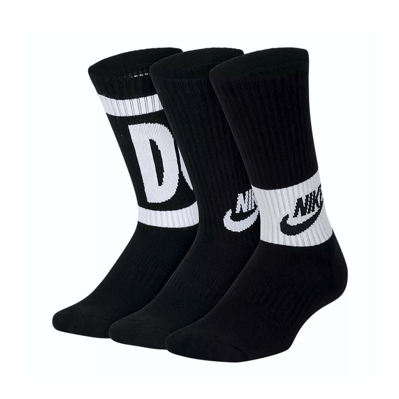 Calcetines altos NIKE PERFORMANCE CUSHIONED CREW negros SX6839-010