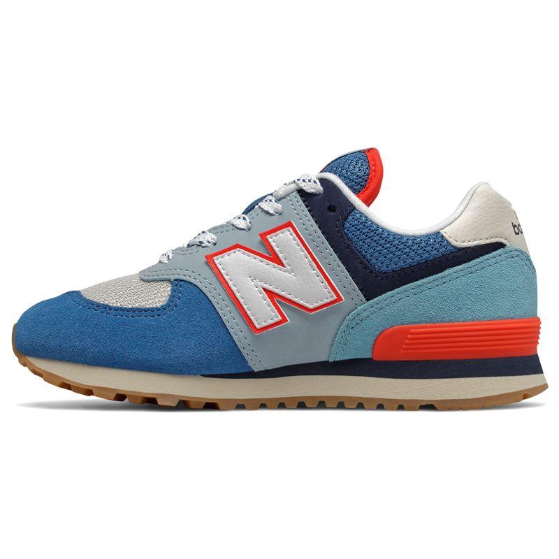 new balance 574 niño azul