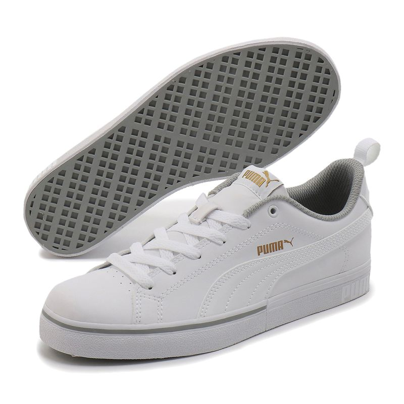 Zapatillas para niño-a PUMA BREAK POINT VULC JR blanca 373633-02