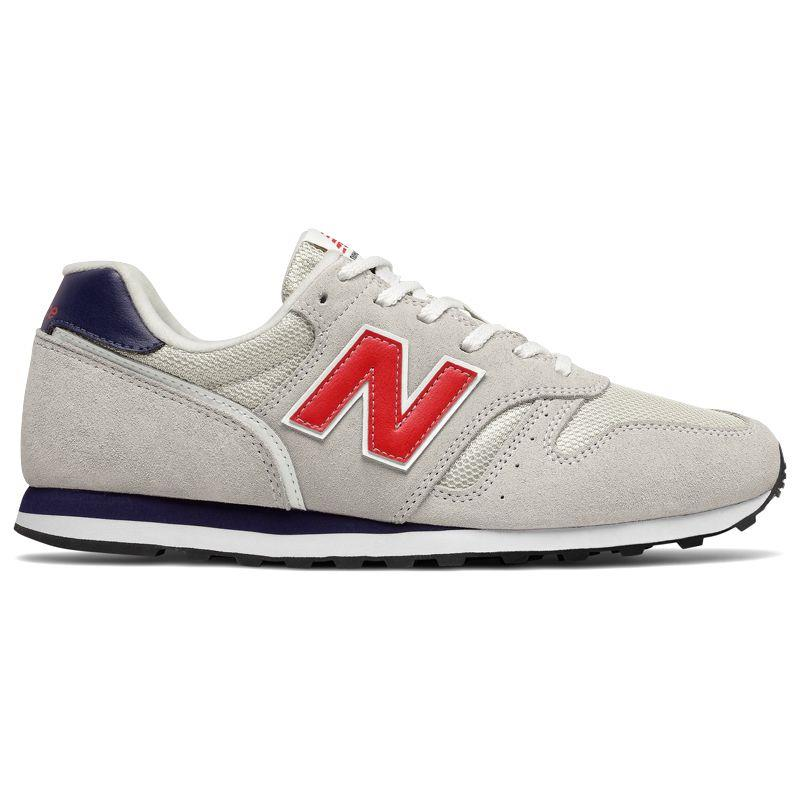 Zapatillas NEW BALANCE 373 blanca y roja ML373CO2