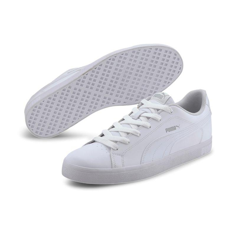 Zapatillas PUMA BREAK POINT VULC blanca 372290-09