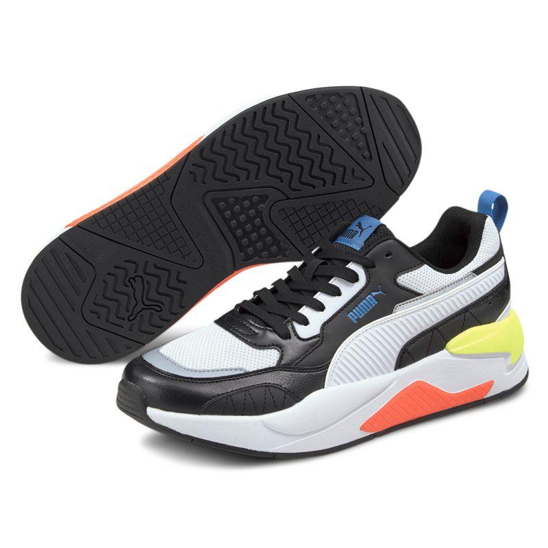 Zapatillas PUMA X-RAY 2 SQUARE negra y blanco 373108-13