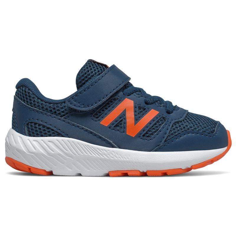 Zapatillas running de niño-a NEW BALANCE 570 marino y naranja IT570BO2